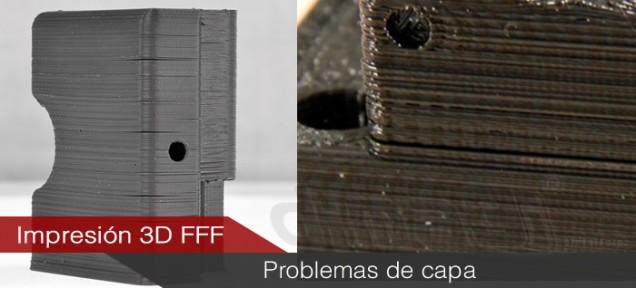 Defectos en piezas fabricadas por impresión 3D FFF Causas y Soluciones (II)