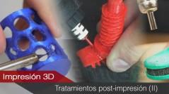 Tratamientos superficiales post-impresión (II). Tratamientos térmicos.