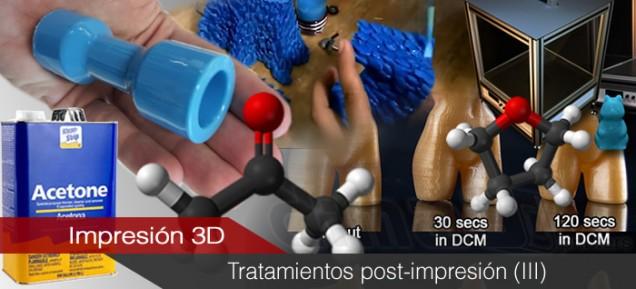 Tratamientos superficiales post-impresión (III). Tratamientos químicos.